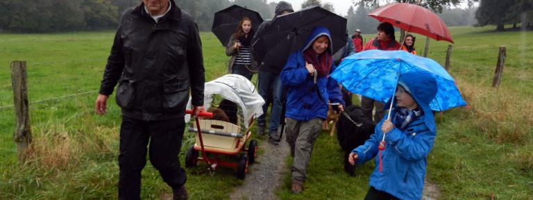 Herbstwanderung ADKN-LG Bayern am 05.10.2013 in Rothenbuch