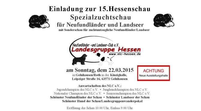 15. Hessenschau des NLC am 22.03.2015