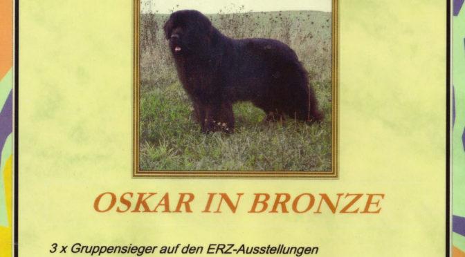 Oskar in Bronze für Anton vom Bärenfels
