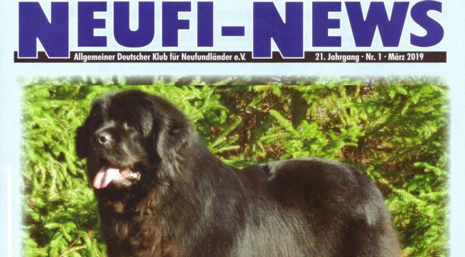 Anton vom Bärenfels Titelbild der Neufi-News