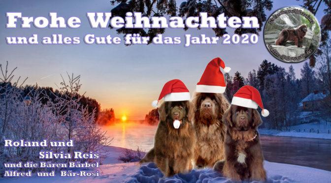 Frohe Weihnachten und alles Gute für das Jahr 2020